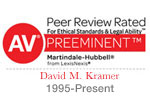 Peer Review Rated AV Preeminent